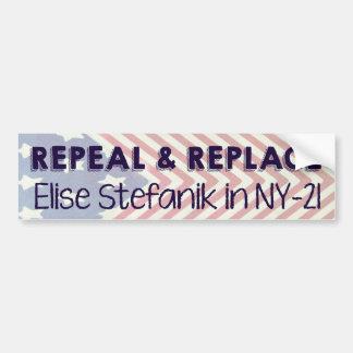 De herroeping en vervangt Elise Stefanik Bumpersticker