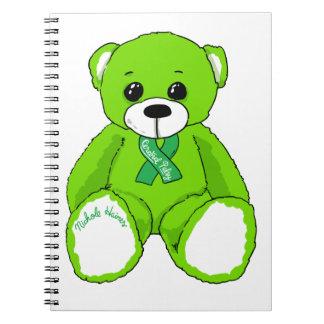 De hersen Producten van de Teddybeer van de Notitieboek