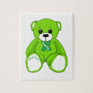 De hersen Producten van de Teddybeer van de Puzzel