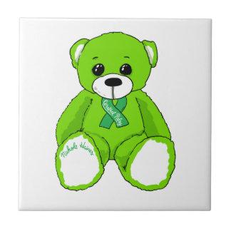 De hersen Producten van de Teddybeer van de Tegeltje Vierkant Small