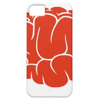 De hersenen van Nerd Barely There iPhone 5 Hoesje