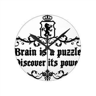 De hersenen zijn een raadsel ontdekken Zijn Macht Ronde Klok