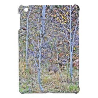De herten van de damhinde en fawns iPad mini hoesjes