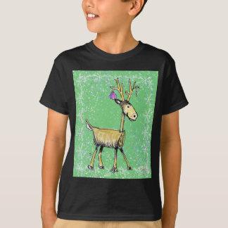 De Herten van de Vakantie van de stok T Shirt