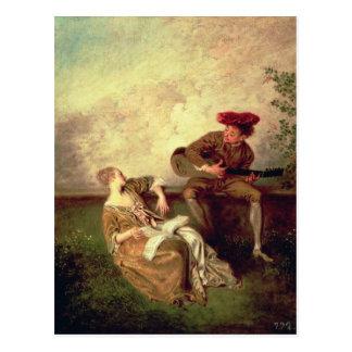 De het Zingen Les Briefkaart
