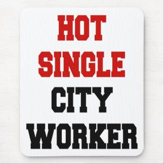 De hete Enige Arbeider van de Stad Muismat