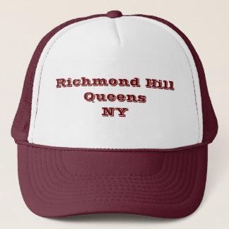De Heuvel van Richmond, Queens, NY de Hoed van de Trucker Pet