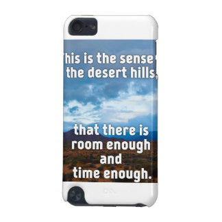 De Heuvels van de woestijn iPod Touch 5G Hoesje