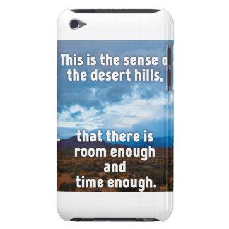 De Heuvels van de woestijn iPod Touch Hoesje