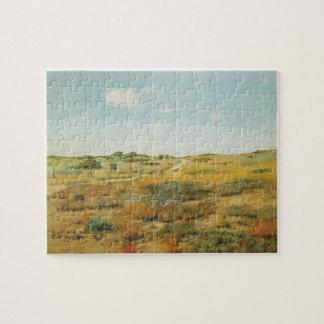 De Heuvels van Shinnecock door William Merritt Puzzel