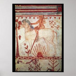De hinderlaag van de Trojan Prins Troilus Poster