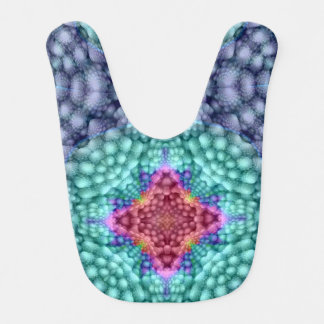 De hip Blauwe Kleurrijke Slabben van het Baby Slabbetje