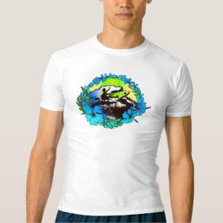 De hip Hawaiiaanse Retro Onbesuisde Wacht van T Shirts