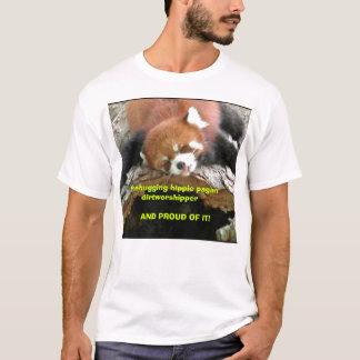 De hippie heidense dirtworshipper van Treehugging T Shirt
