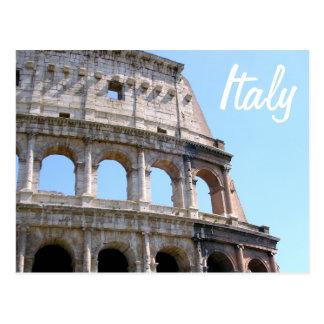 De Hoek van Coliseum - Rome, Italië Briefkaart