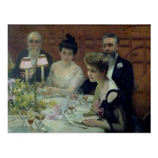 De hoek van de Lijst, 1904 Briefkaart