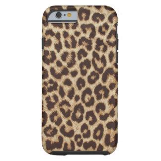 De hoesje-Partner van de Druk van de luipaard Tough iPhone 6 Hoesje