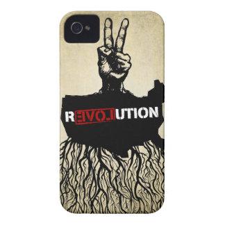 De hoesje-Partner van de Revolutie van de liefde H iPhone 4 Hoesje