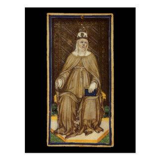 De hoge Priestess Kaart van het Tarot