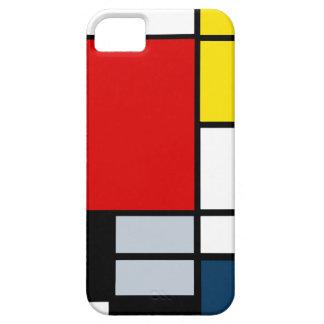 De hoge Samenstelling van Onderzoek Piet Mondrian Barely There iPhone 5 Hoesje