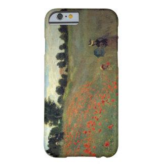 De hoge Wilde Papavers van Onderzoek Monet Barely There iPhone 6 Hoesje