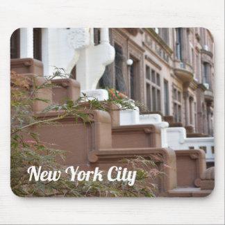 De hogere Brownstones van het Westen ZijStad NYC Muismatten