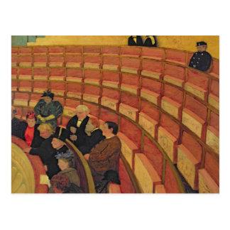 De hogere Cirkel bij het Theater du Chatelet Briefkaart