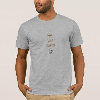 De Holbewoner van het man T Shirt
