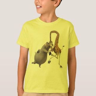 De Holding van de Hand Gloria en Melman T Shirt