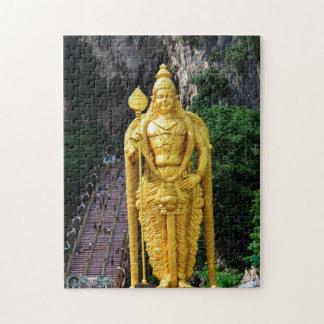 De Holen Boedha standbeeld-Maleisië van Batu Puzzel