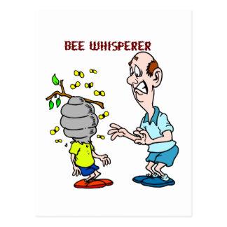 De Hommel van Whisperer van de Bij van de Minnaars Briefkaart
