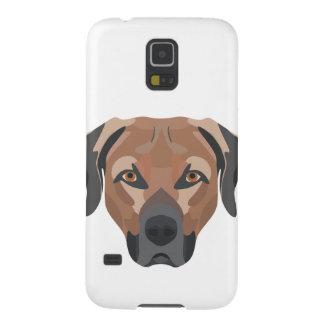 De Hond Bruin Labrador van de illustratie Galaxy S5 Hoesje