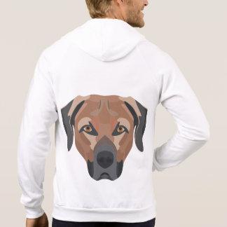 De Hond Bruin Labrador van de illustratie Sweater