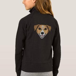 De Hond die van de illustratie Terrier glimlachen Jack