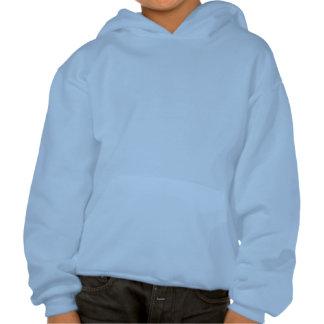 De HOND Lichtblauwe Childs Hoodie van de BOKSER