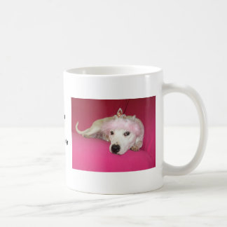 De Hond Lucy van de prinses Koffiemok