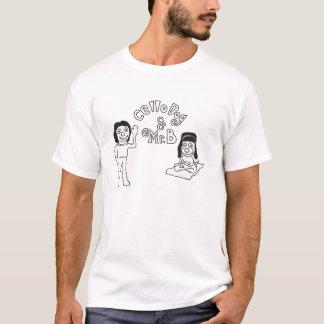De Hond & M.B het Openen het Overhemd van de cello T Shirt