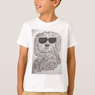 De hond martini van Havanese T Shirt