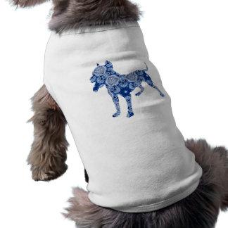 De Hond Nr 1% Blauw | van Paisley van pipe% T-shirt