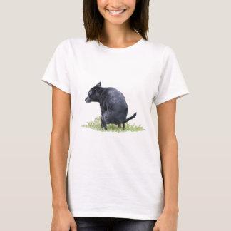 De hond Pooping denkt na T Shirt