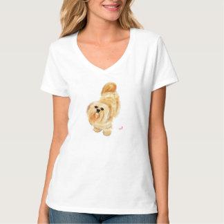 De Hond van Apso van Lhasa T Shirt