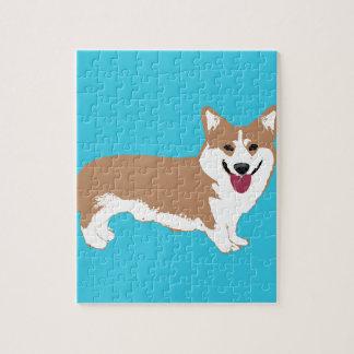 De Hond van Corgi Puzzel