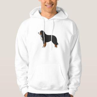 De Hond van de Berg van Bernese Hoodie
