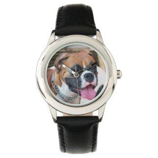 De Hond van de bokser Horloge