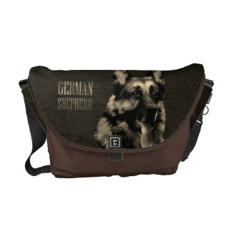 De hond van de Duitse herder - Portret GSD Messenger Bag