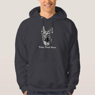 De Hond van de Duitse herder Sweatshirt