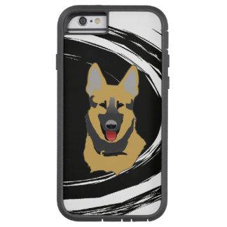 De Hond van de Duitse herder Tough Xtreme iPhone 6 Hoesje