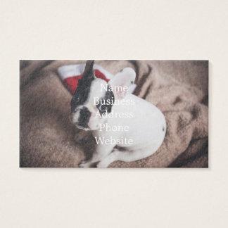 De hond van de Kerstman - grappige pug - hond Visitekaartjes