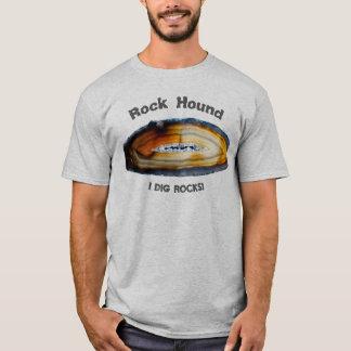 De Hond van de rots - ik graaf Rotsen! T Shirt