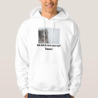 De Hond van de sneeuw Sweatshirt Met Hoodie